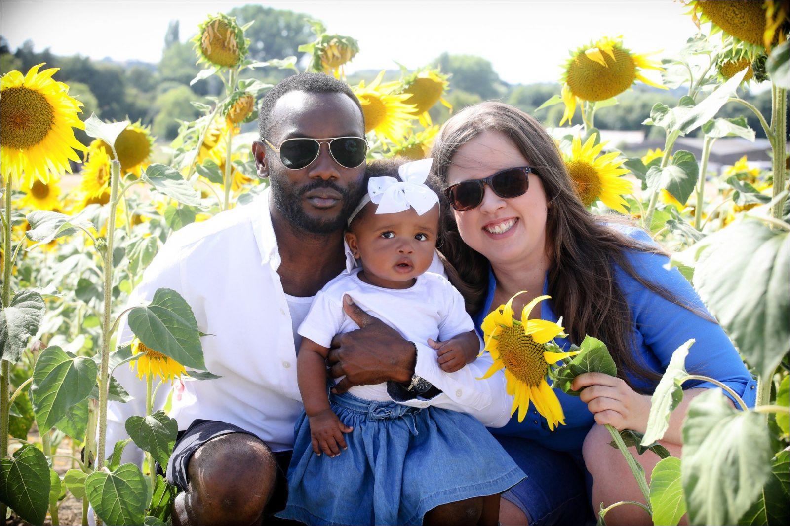 Sunflower family portraits herfordshire