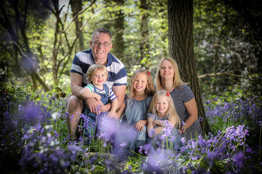 Hertfordshire Bluebell Family Photographer